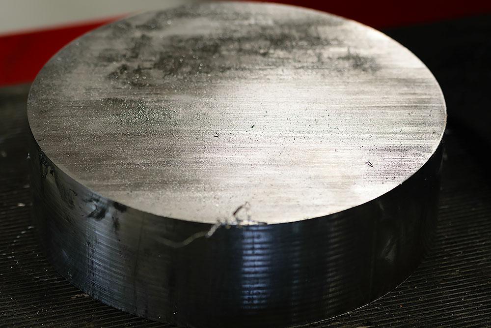 Material in Edelstahl für das CNC-Fräsen von Bohnenschnitter - Spaantec