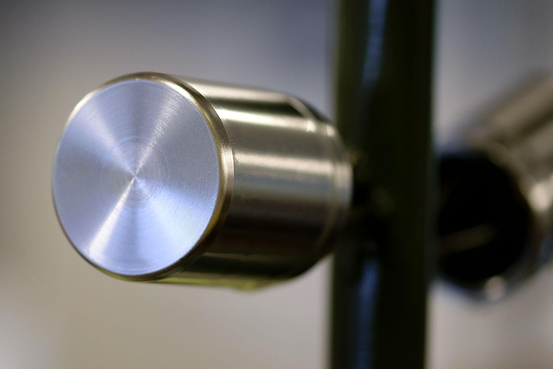 Zoom view von einer Komponente zum Trocknen aufgehängt